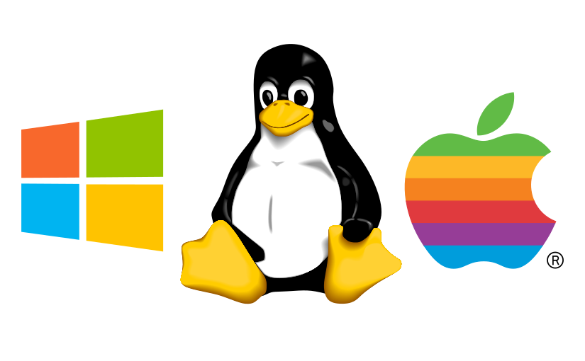 El problema es la elección, Windows, Linux u OSX