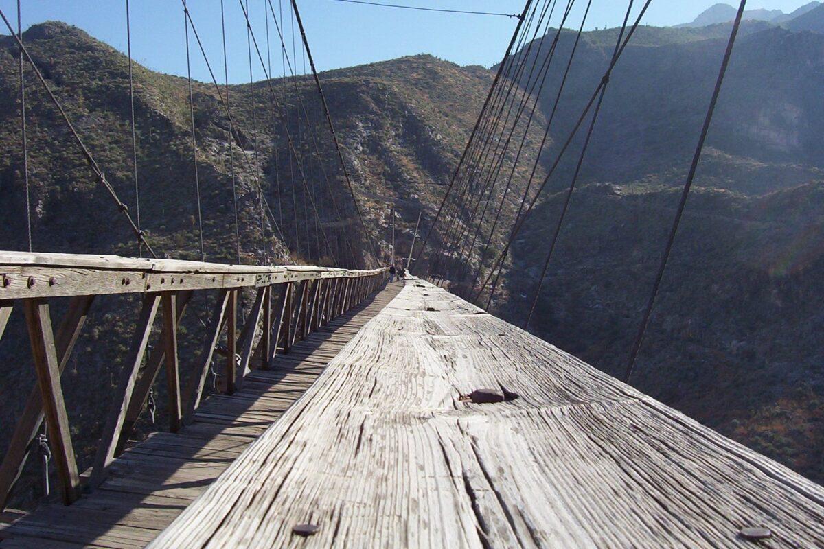 Puente de Ojuela en Mapimí Durango