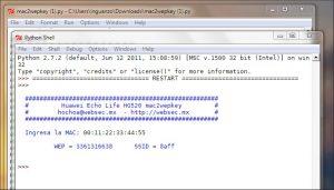 mac2wepkey en windows