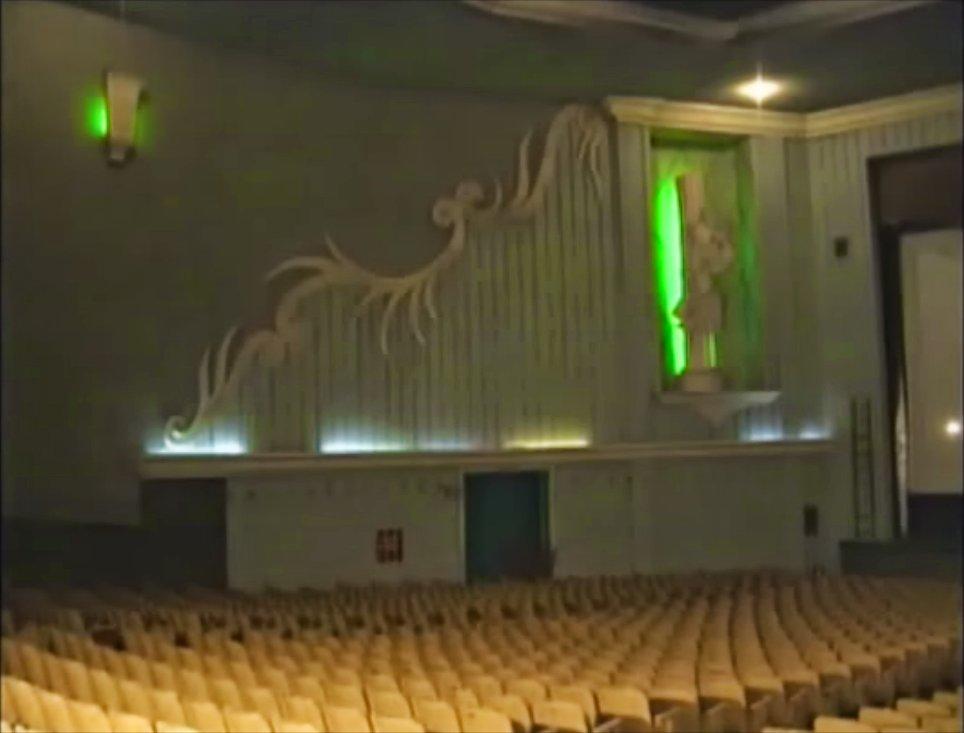Interior del antiguo cine nazas