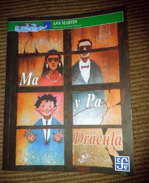 Ma y Pa Dracula Portada