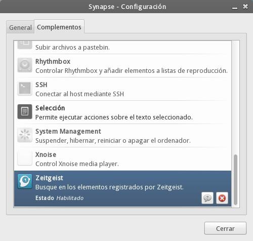 Synapse - Complemento Zeitgeist