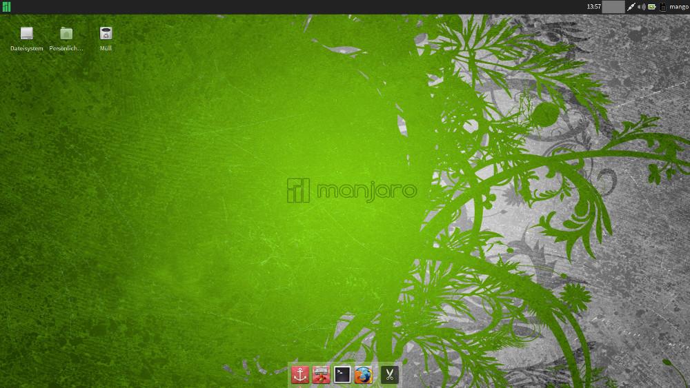 Manjaro 0.8.4 Xfce
