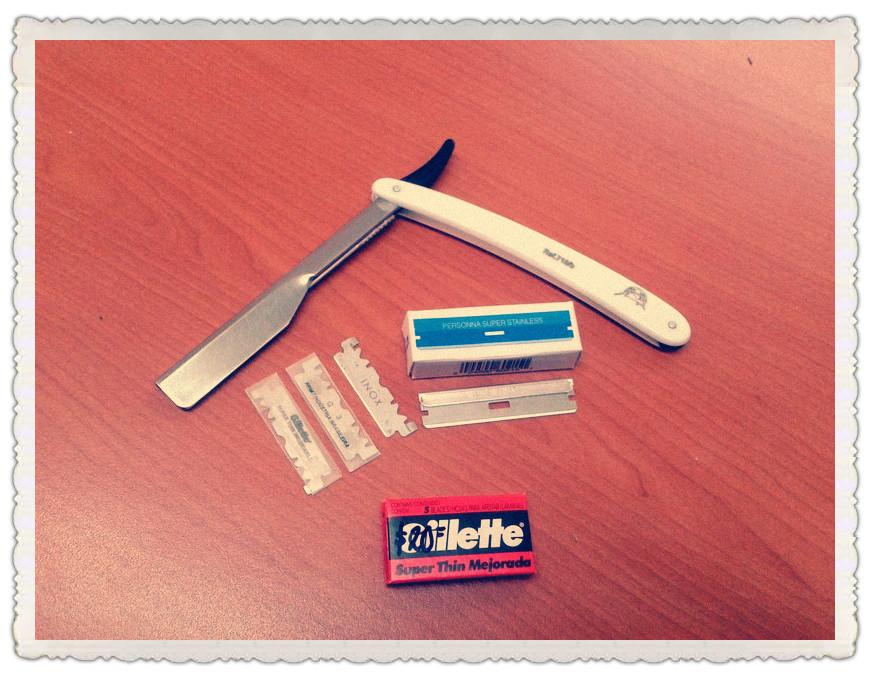 Kit de shavette y hojas de afeitar