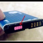 Como saber si un celular fue mojado
