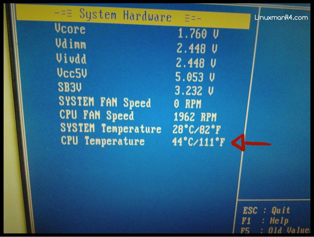 Clima fresco en el CPU