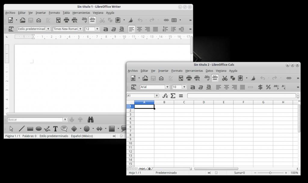 Iconos Monocromáticos en LibreOffice