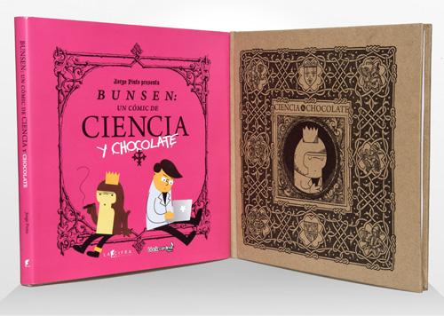 Bunsen un comic de ciencia y chocolate