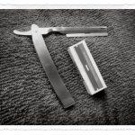 De navajas, jabones, lociones y otros accesorios de afeitado