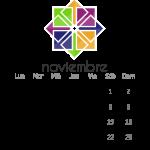 Calendario Libre 2014 noviembre CentOS
