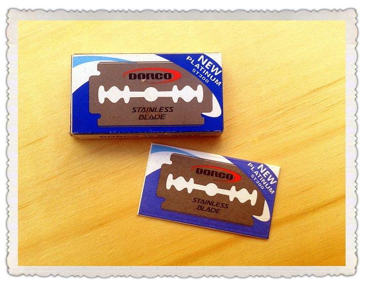 Hojas de afeitar Dorco Platinum ST300