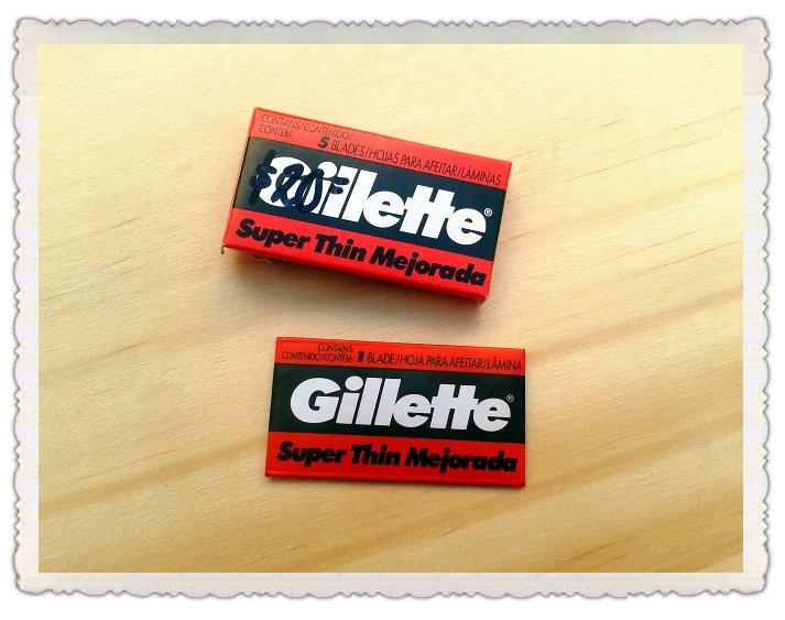 Hojas de afeitar Gillette Super Thin Mejorada