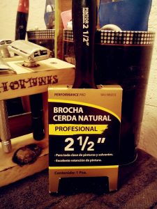 Brocha de cerda natural