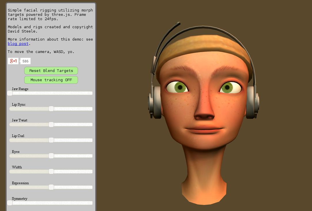 El Carotas Este experimento hace un uso intensivo de WebGL