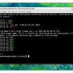 Script en bash que hace ping a tus servidores