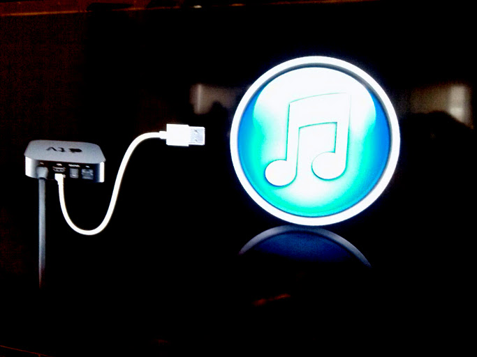 Conectar el Apple TV al iTunes