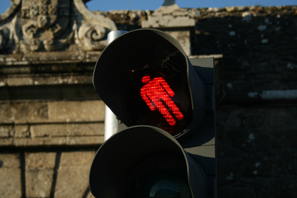 semáforo en valencia