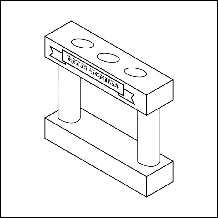 Diagrama del soporte