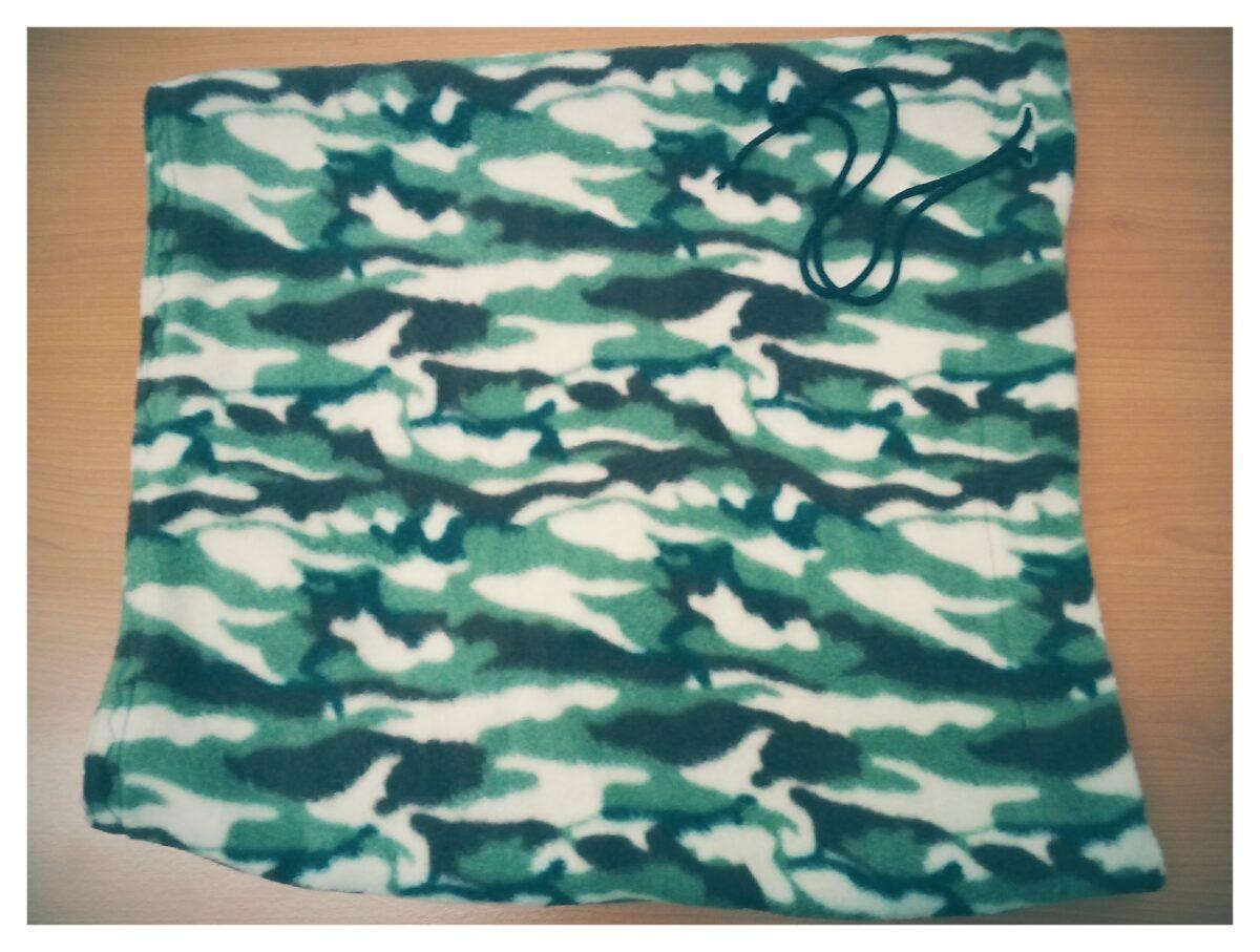 bufanda de tela polar