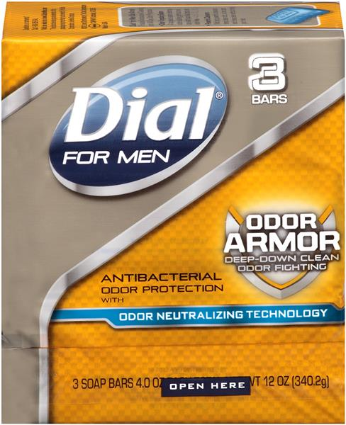 dial for men odor armor