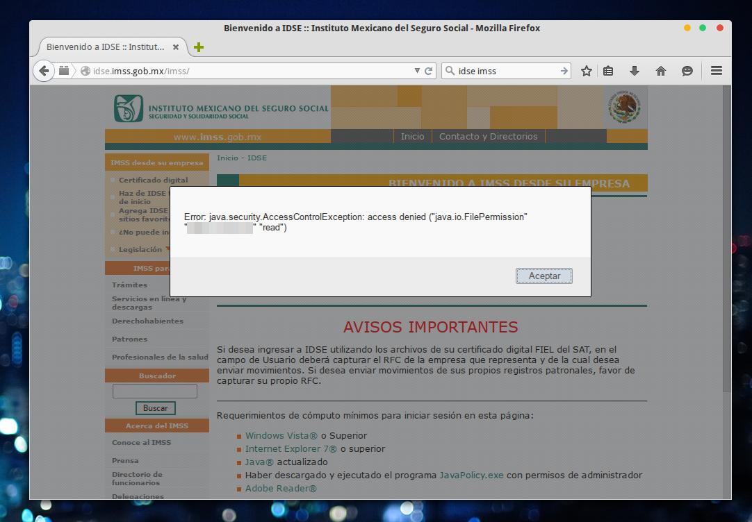 IDSE desde Linux
