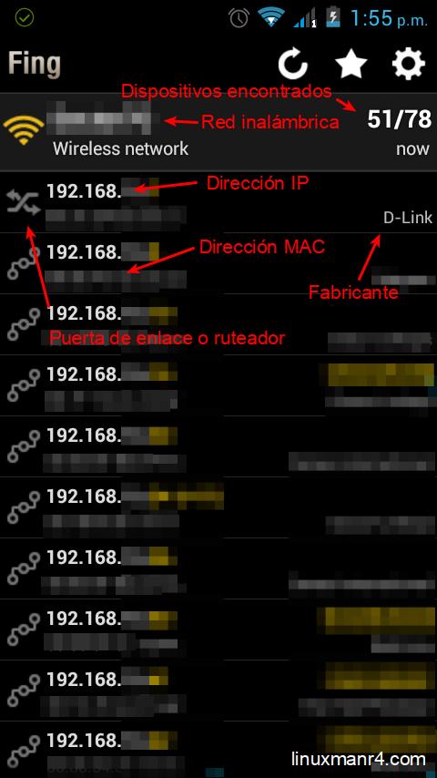 Fing escaneo inicial de la red | Quien esta conectado a mi wifi