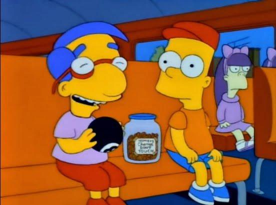 Episodio de los Simpson en el que usan la bola mágica