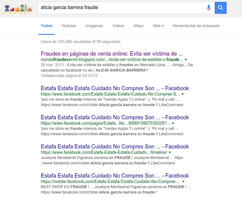 Busqueda en Google - alicia garcia barrera