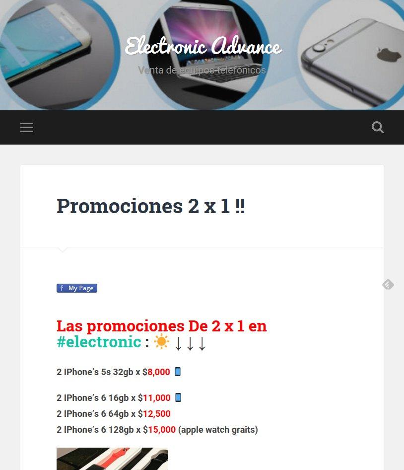 Electronic Advance