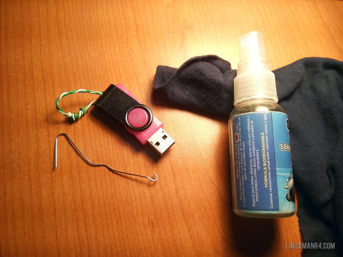 Como limpiar una memoria usb linuxmanr4 - Trapos para limpiar ...