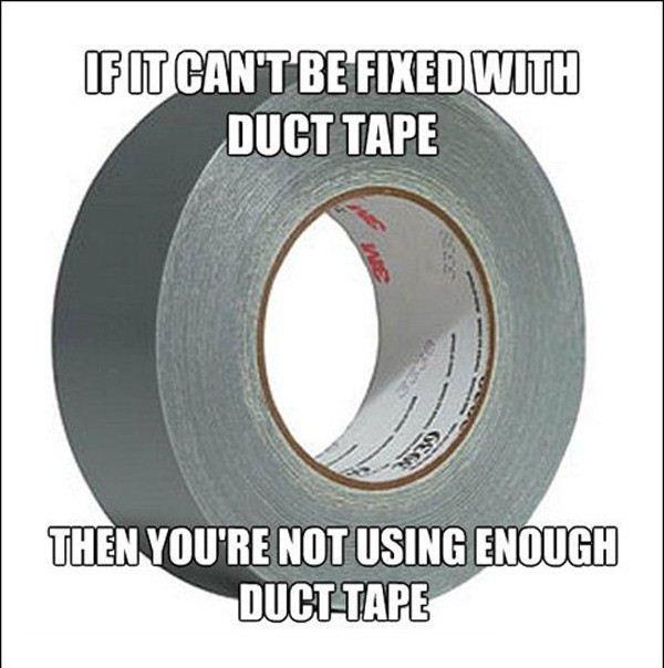 cinta para ducto
