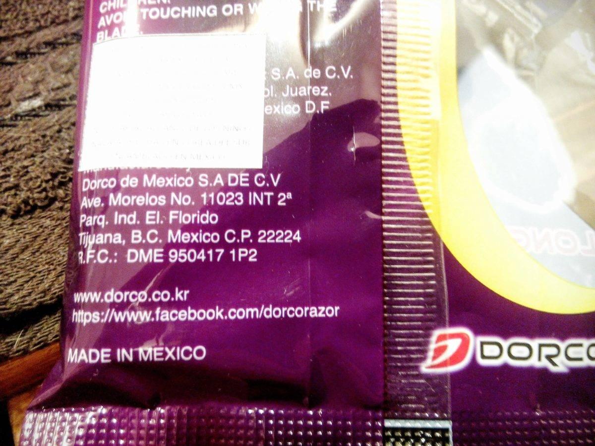 Dorco Hecho en México