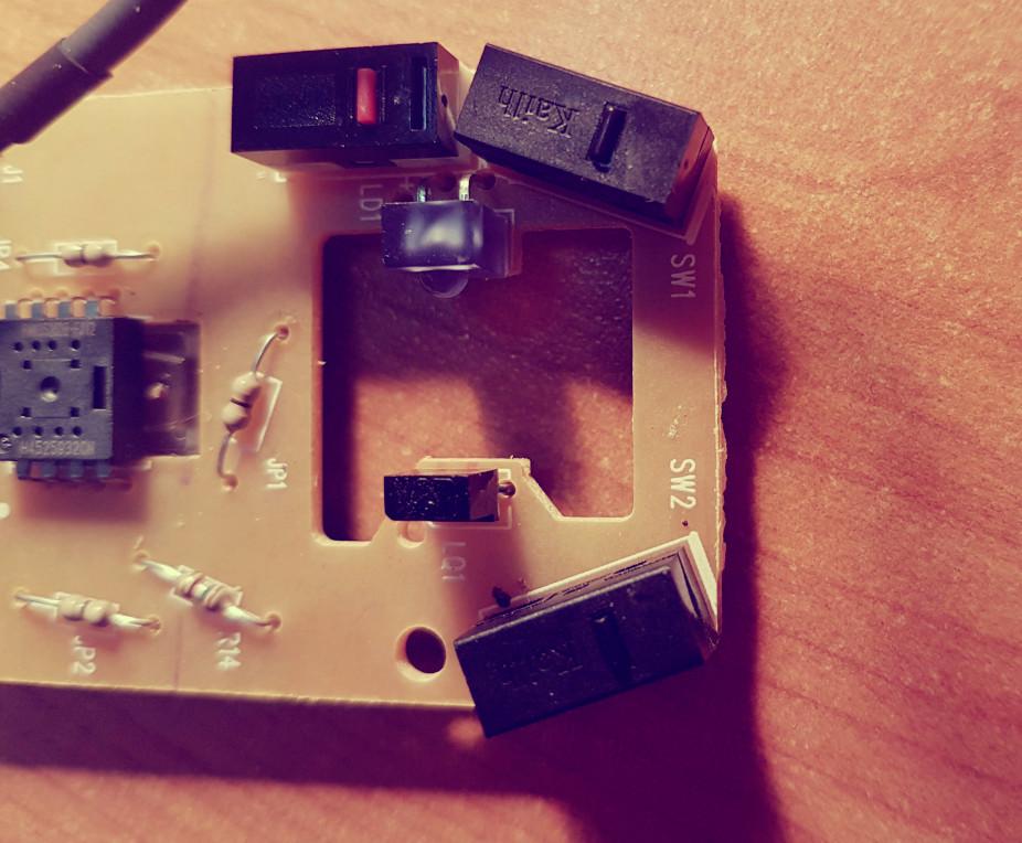 Como arreglar el botón del mouse.