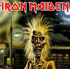 Portada de un álbum de Iron Maiden.