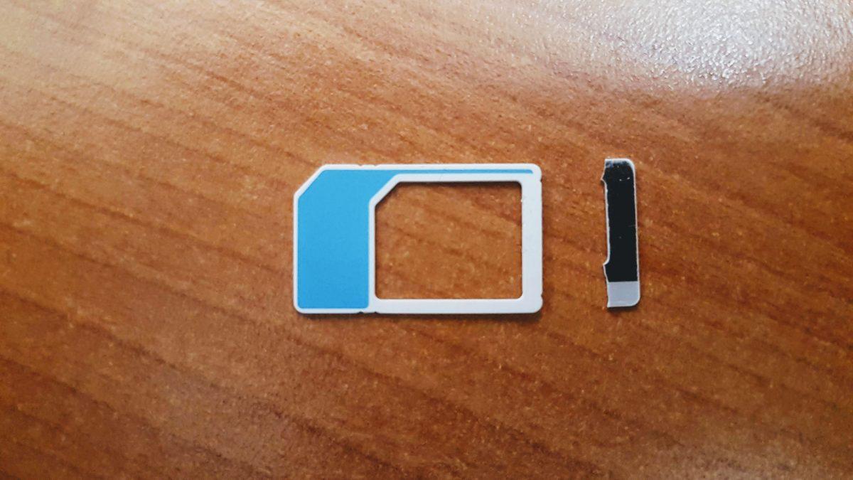 La historia de la tarjeta SIM que no era reconocida por su celular.