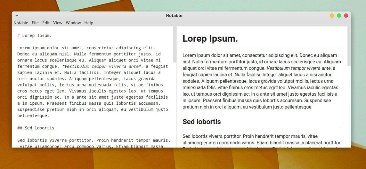 Notable Ejemplo Lorem Ipsum