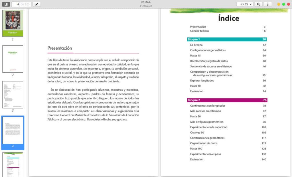 El resultado final, un pdf que contiene todas las imágenes del libro.